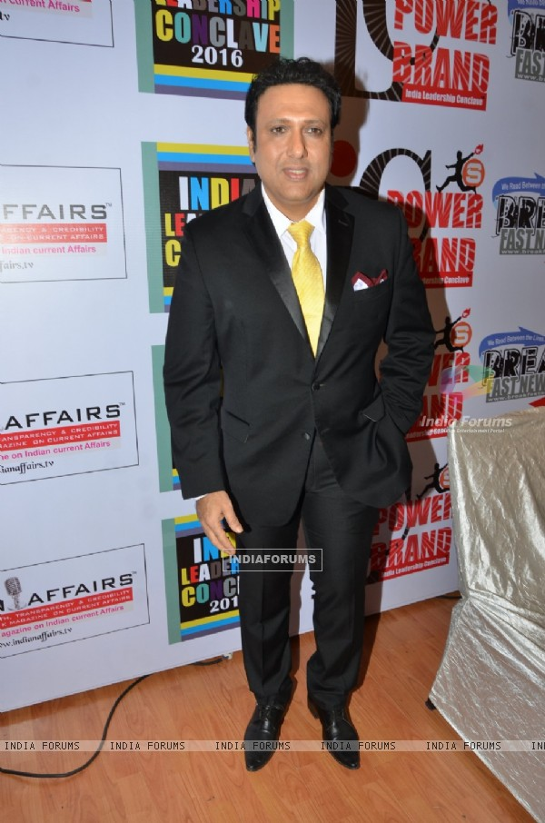 Govinda at India Leadership Concalve Awards 2016