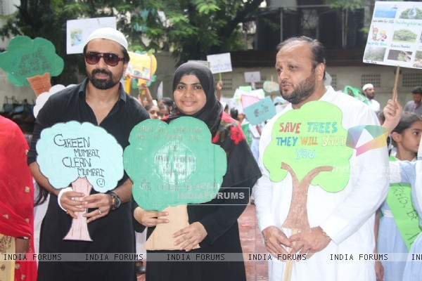 Ajaz Khan Celebrates 'Van Mahotsav Week'