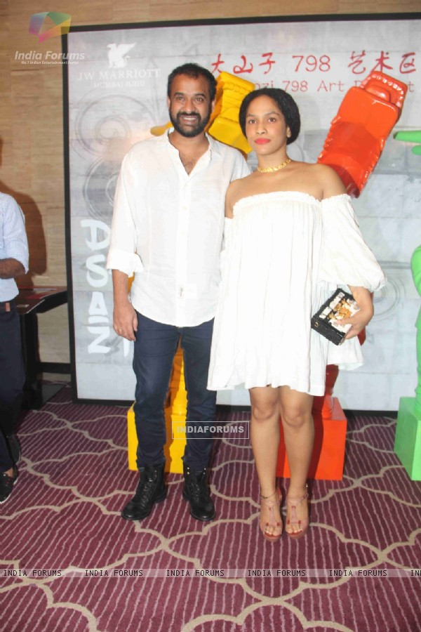 Madhu Mantena and Masaba Gupta at Krishika Lulla's Party for The New Asian Restaurant DASHANZI