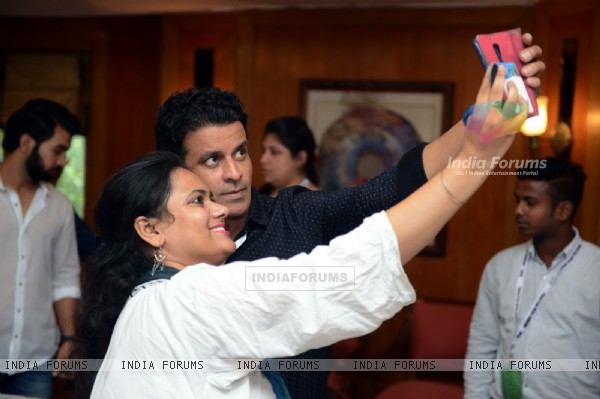 Manoj Bajpayee at 7th Jagran Film Festival at Siri Fort Auditorium