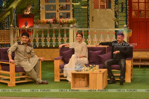 Salman Khan and Anushka Sharma Promotes 'SULTAN' with Kapil Sharma on 'The Kapil Sharma Show'