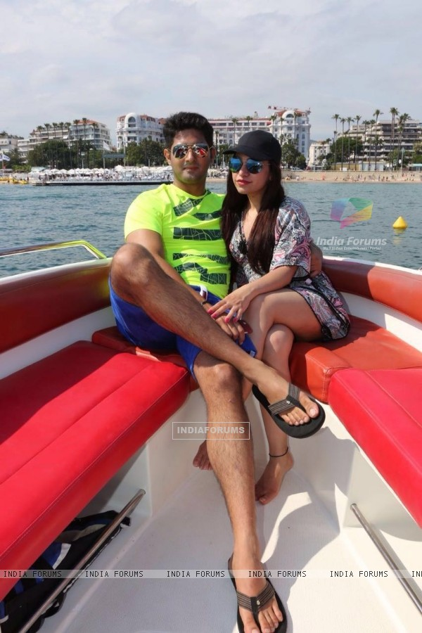 Travel Diaries - Tulsi Kumar with her husband in Monte Carlo & Cannes!
