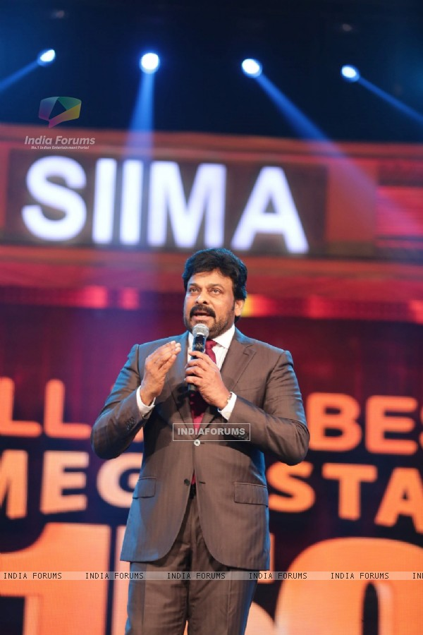 Chiranjeevi at SIIMA Awards 2016
