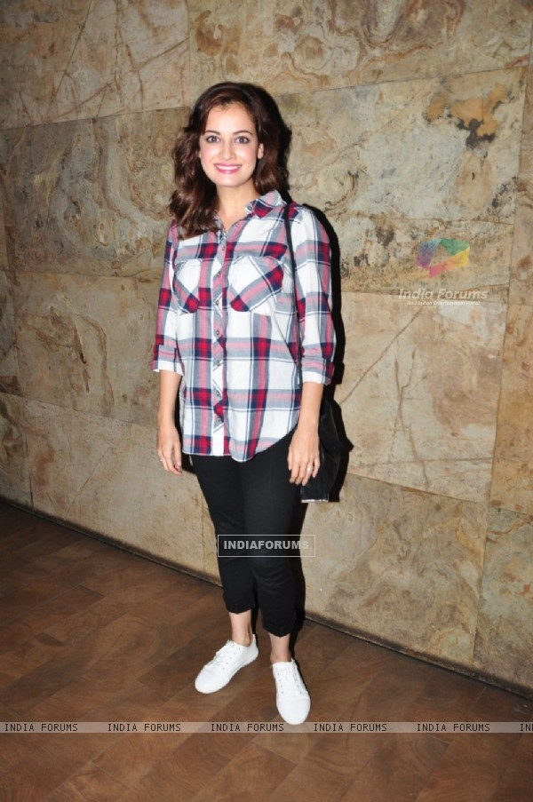 Dia Mirza at Special Screening of 'SULTAN'