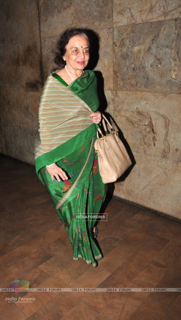 Asha Parekh at Special Screening of 'SULTAN'