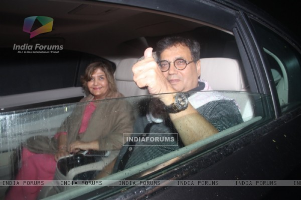 Subhash Ghai at Special Screening of 'SULTAN'
