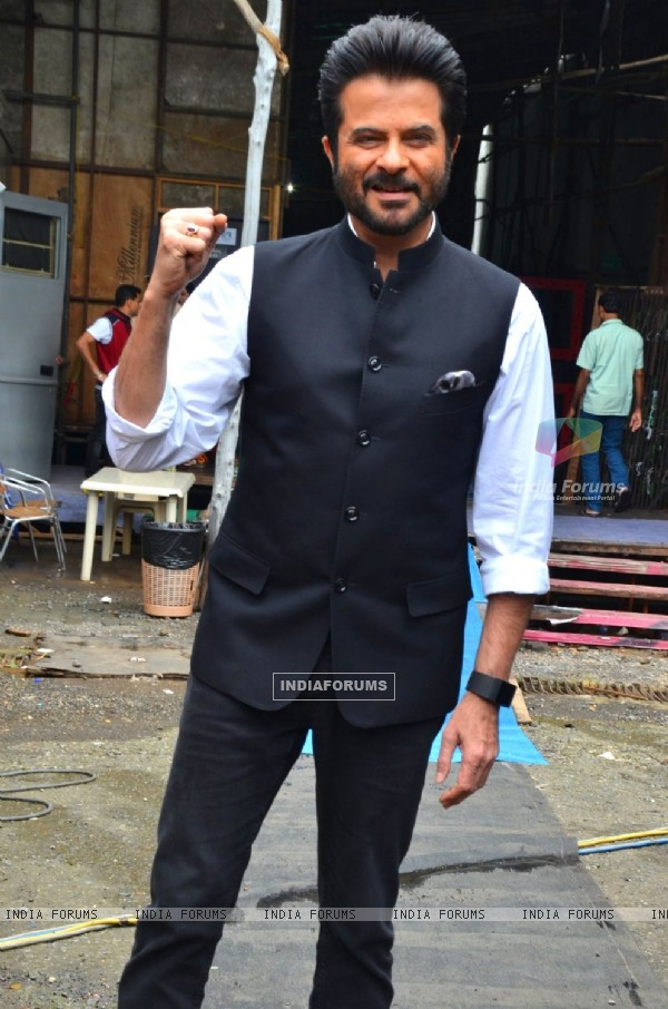 Anil Kapoor snapped on the sets of 'India,s Got Talent'