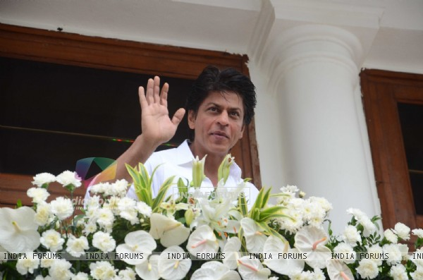 Shah Rukh Khan on EID 2016 meet!