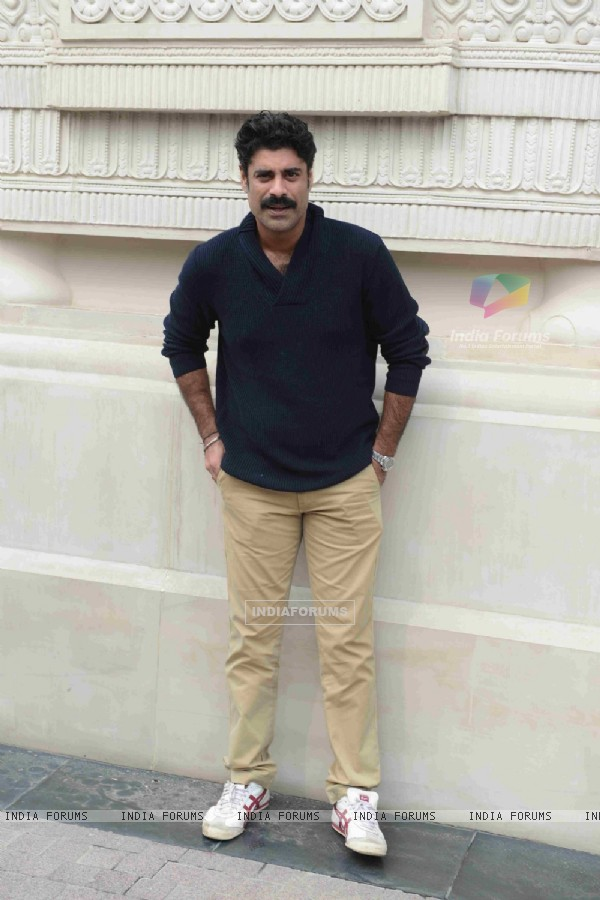 Sikander Kher poses for media at Promotions of '24 Season 2' Show