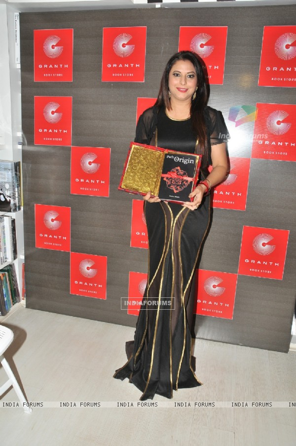Gurpreet Kaur Chadha at  Launch of Book by author 'Simmer Bhatia'- 'Path to Origin'