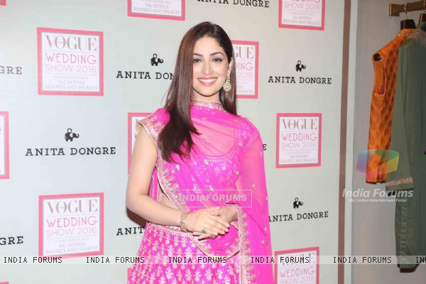 Yami Gautam at Vogue Wedding Show 2016
