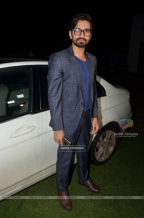 Vishal Singh at Divyanka Tripathi - Vivek Dahiya Wedding Reception