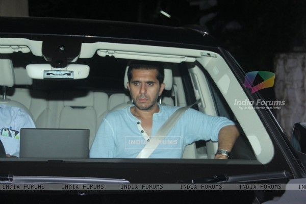 Ritesh Sidhwani at Katrina Kaif's Birthday Bash