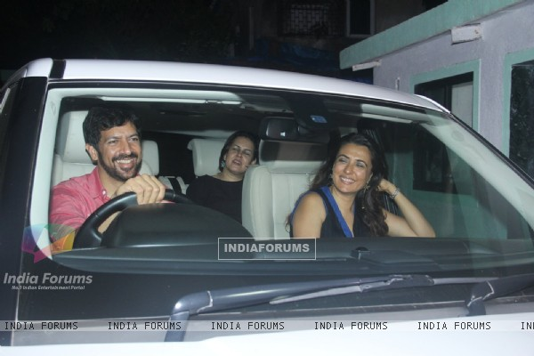 Kabir Khan and Mini Mathur at Katrina Kaif's Birthday Bash