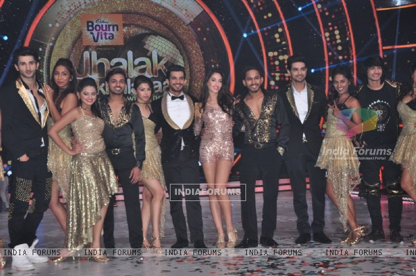 Contestants shoots for Jhalak Dikhhlaa Jaa 9 Premiere
