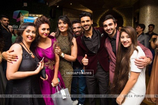 Neena Kulkarni, Shireen Mirza and Aditi Bhatia at Divyanka- Vivek's 'Happily Ever After' Party