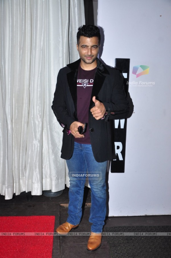 Ayaz Khan at Leena Jumani's birthday bash!
