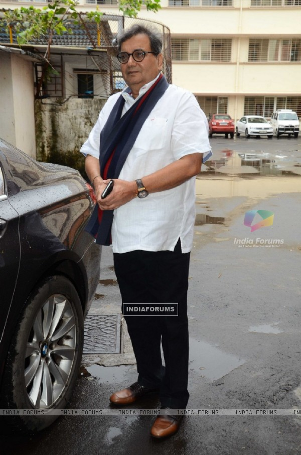 Subhash Ghai at Convocation ceremony at Whistling Woods