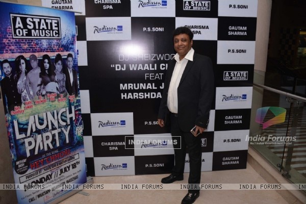 Manik Soni at Launch of the music video album & Birthday bash of Mr. Gautam Sharma