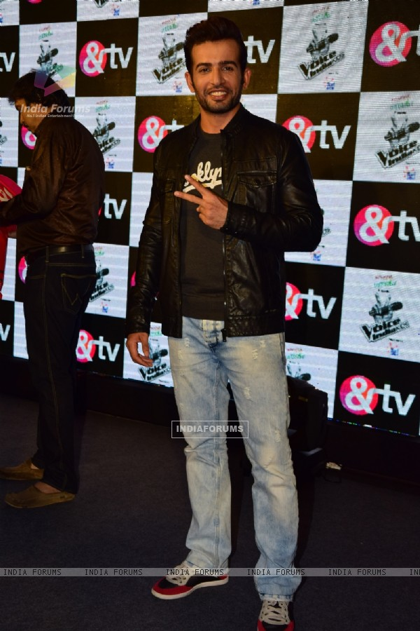 Jay Bhanushali at Launch of &TV's new show 'The Voice India Kids'