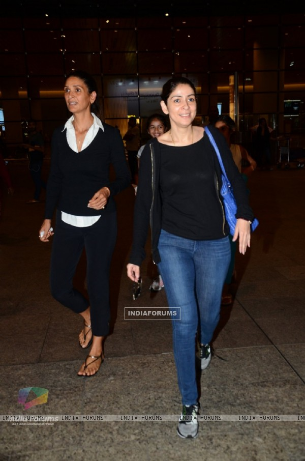 Bhavna Pandey spotted at airport