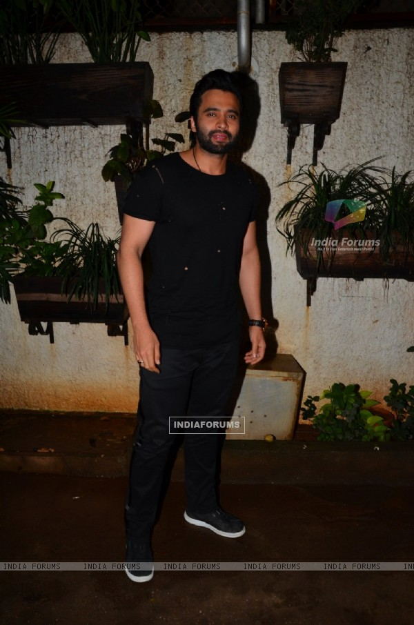 "Jackky Bhagnani at Special screening of the film ""Madaari"""