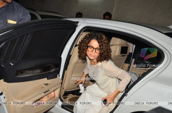 Kangana Ranaut at the screening of Madaari at Lightbox