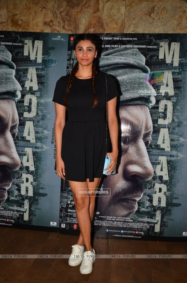 Actress Daisy Shah at the special screening of Madaari