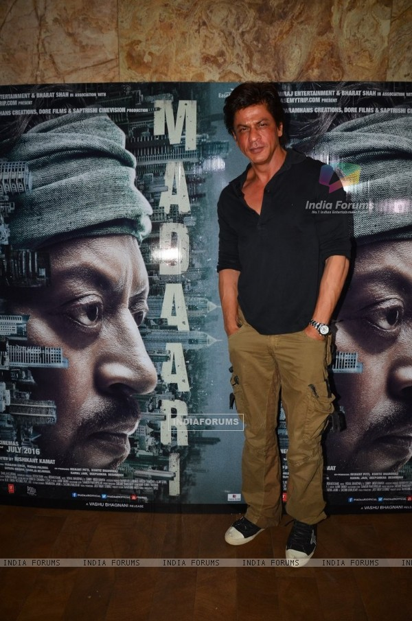 Shah Rukh Khan at the special screening of Madaari