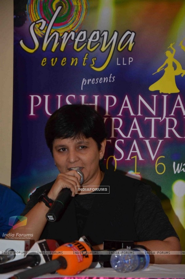 Press Meeet with Falguni Pathak at Ambassador Hotel