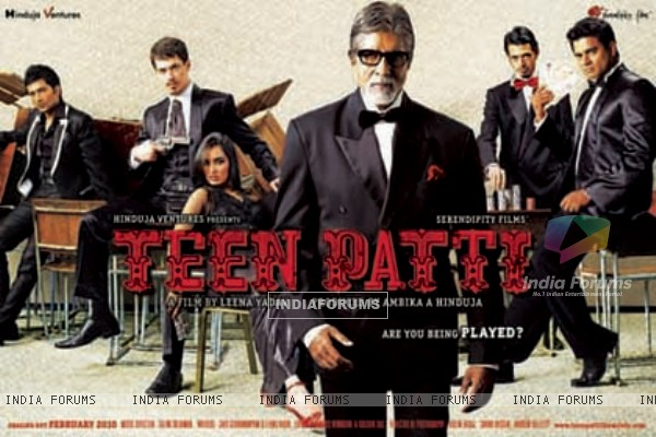 Wallpaper of the movie Teen Patti