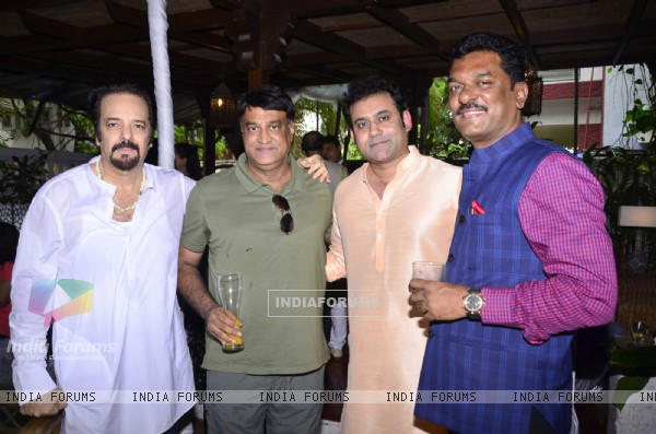 Akbar Khan with Pratap Sarnaik at his Get together party!
