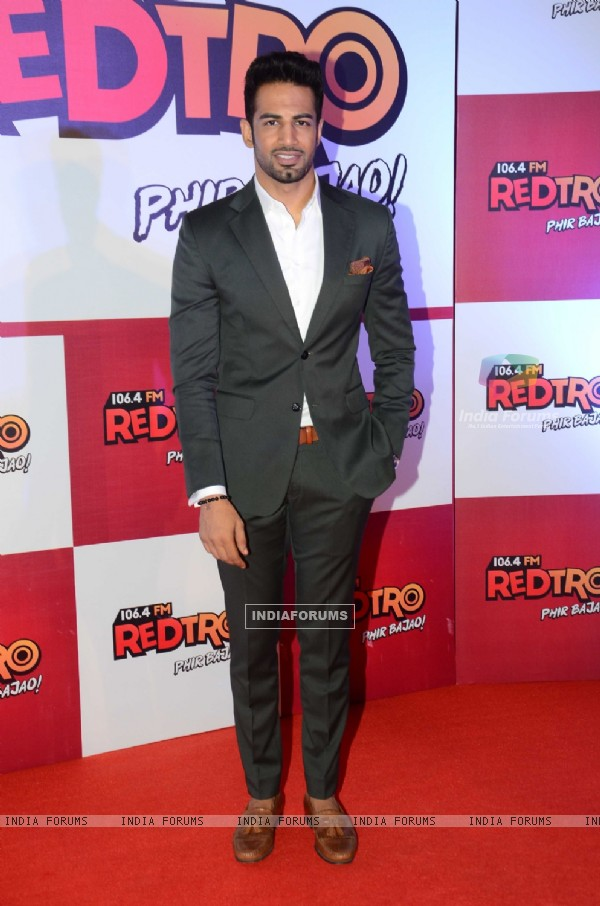 Upen Patel at Launch of Red FM's new channel 'RedTro 106.4 FM'