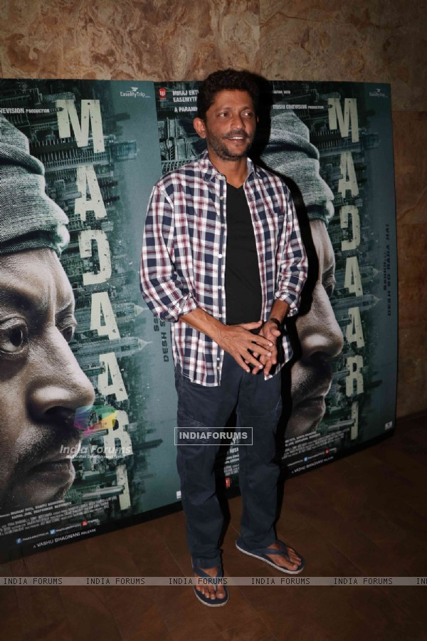Nishikant Kamat at the special screening of 'Madaari'