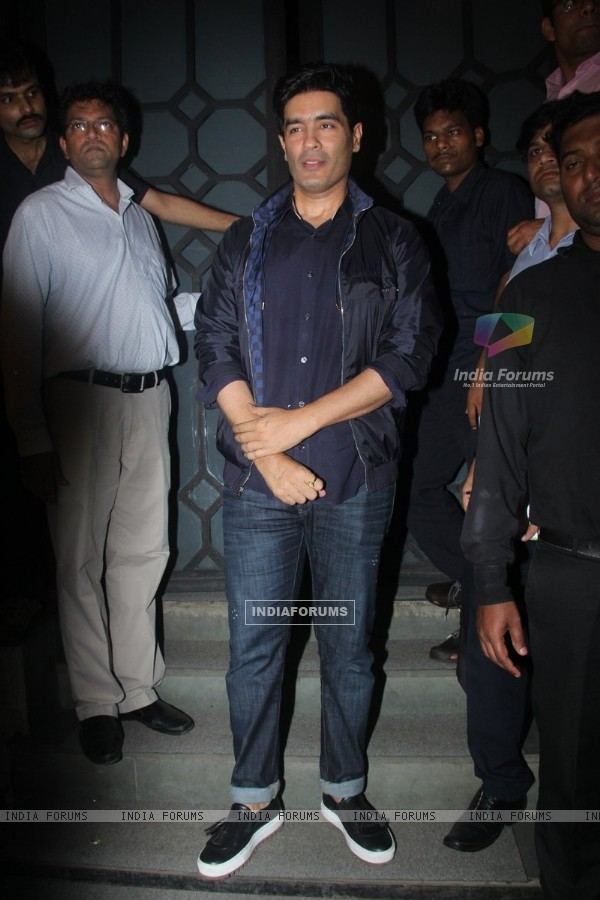 Manish Malhotra at Jitesh Pillai's Bday Bash!