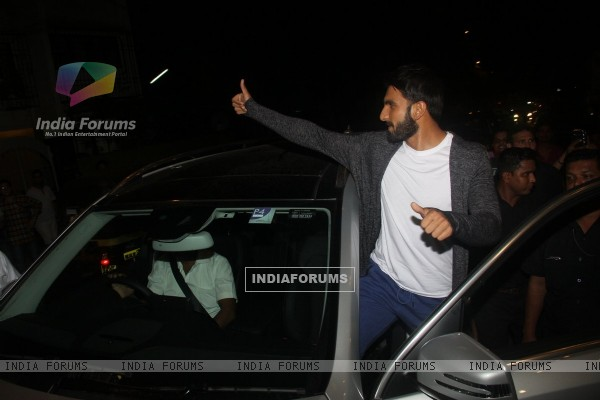 Ranveer Singh at Jitesh Pillai's Bday Bash!