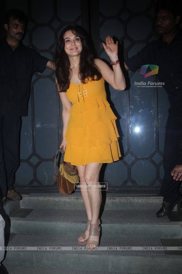 Preity Zinta at Jitesh Pillai's Bday Bash!