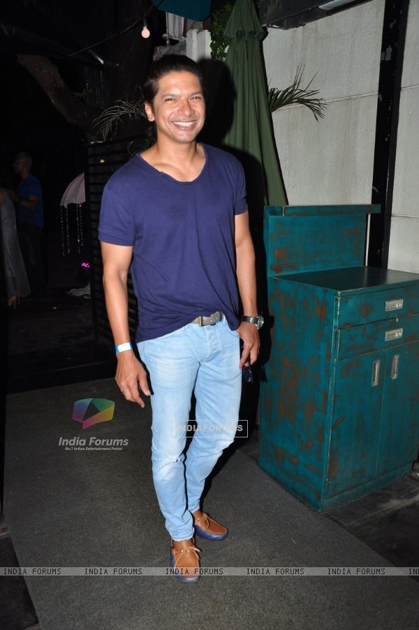 Shaan snapped on 'Voice of India Kids' show