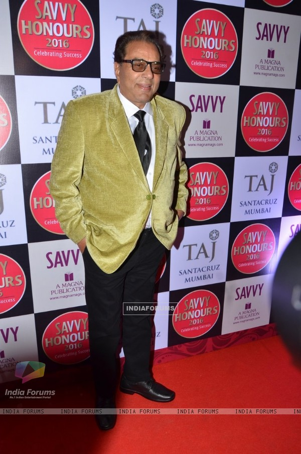 Dharmendra at Savvy Honours 2016