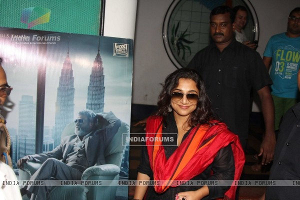 Vidya Balan at Screening of movie 'Kabali'