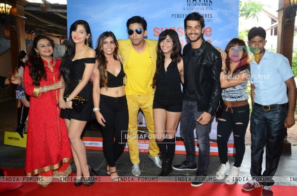 Sunny Kaushal at Trailer launch of 'Sunshine Music Tours and Travels'