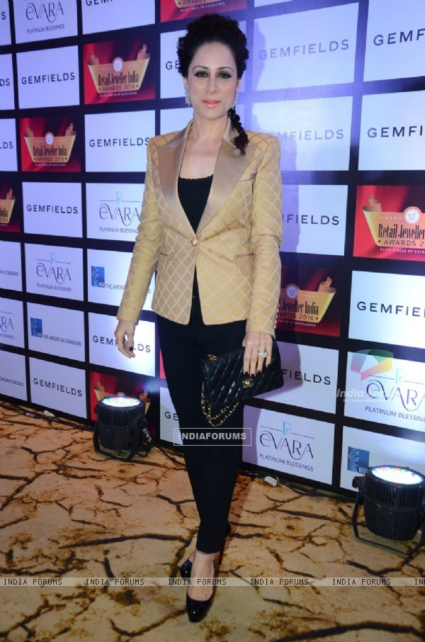 Rouble Nagi at Retail Jeweller India Awards 2016