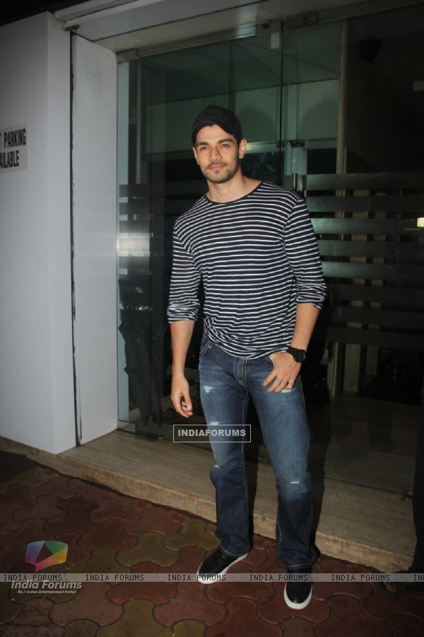 Suraj Pancholi snapped in the city