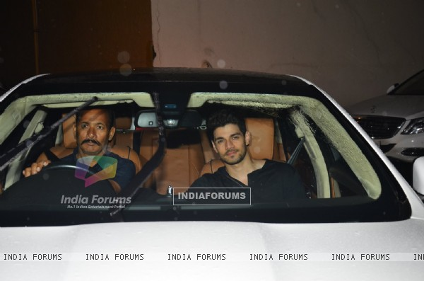 Suraj Pancholi at Special screening of the film 'Dishoom'