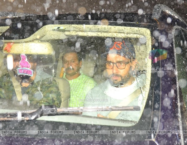 Abhishek Bachchan at Special screening of the film 'Dishoom'