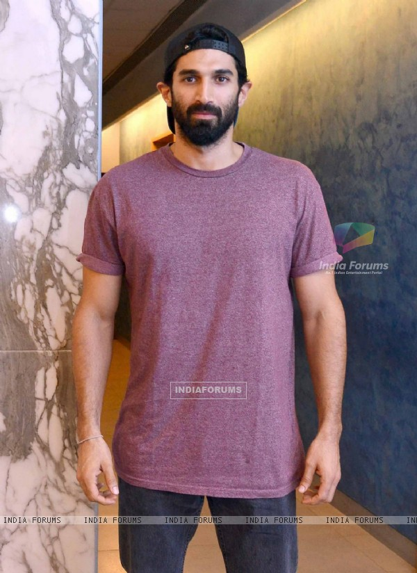 Aditya Roy Kapur at Special screening of the film 'Dishoom'