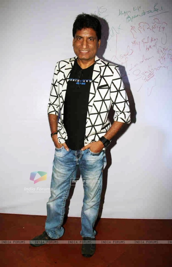 Raju Shrivastav at Post wedding celebrations of Sambhavna & Avinash at Bora Bora