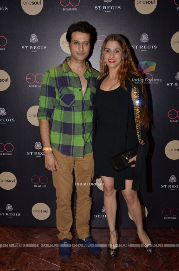 Apurva Agnihotri and Shilpa Saklani Agnihotri at Birthday bash of Shamita Singha at St Regis
