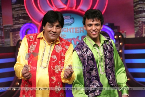 Abhijeet Sawant in the show Laughter Ke Phatke