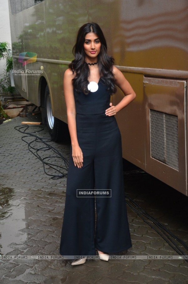 Actress Pooja Hegde Snapped at Mehboob Studios